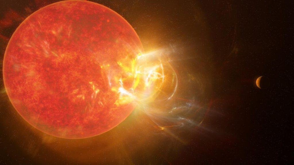 Neighboring star Proxima Centauri produces monstrous solar flares