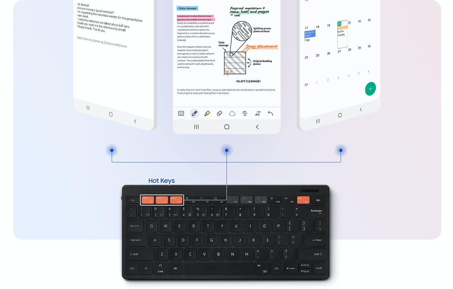 Samsung launches a compact keyboard for 44.99 euros