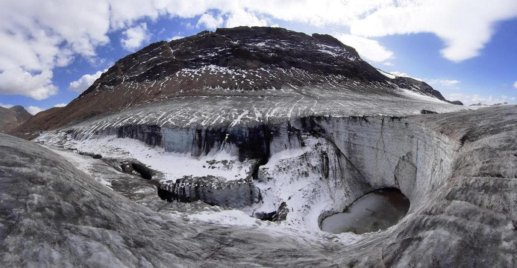 Commentary on the retreat of glaciers