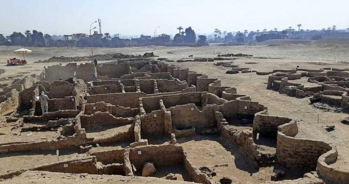 Archaeologists Discover Ancient City From Pharaoh's Time In Egypt |  The story