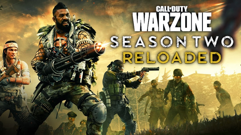Call of Duty Warzone Black Ops Cold War Season 2 Reloaded