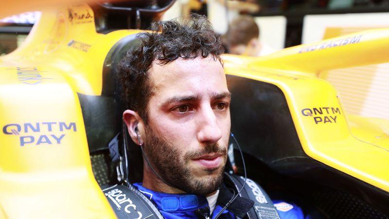 Daniel Ricciardo: 'Formula 1 crash madness'