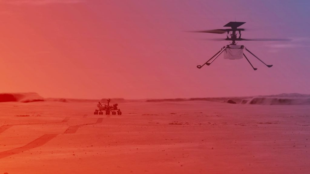First helicopter flight to Mars postponed due to technical problem |  NOW