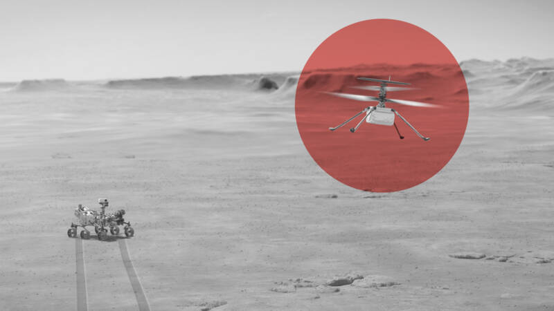 First steps taken for Mars Heli flight, 'success would mean breakthrough'