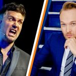Guido Weijers and Arjen Lubach argue via social media