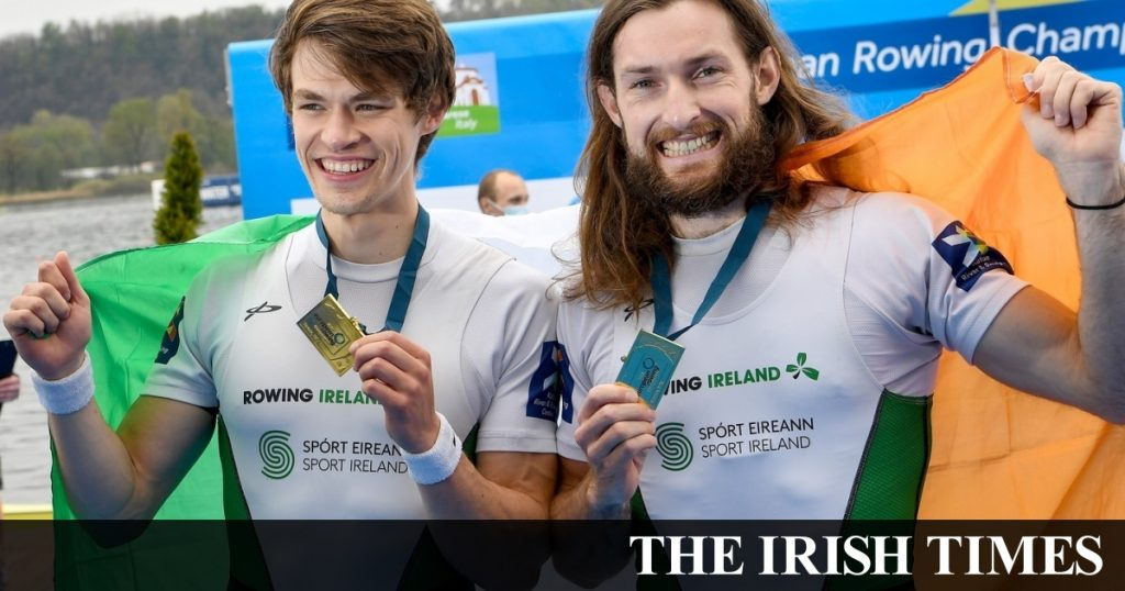 Irish rowers add European gold and silver to their international space