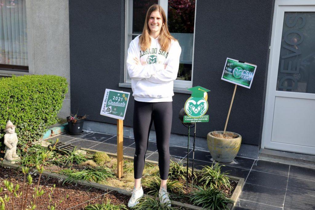 Kortrijk's top talent Lore Devos (22) returns from the US