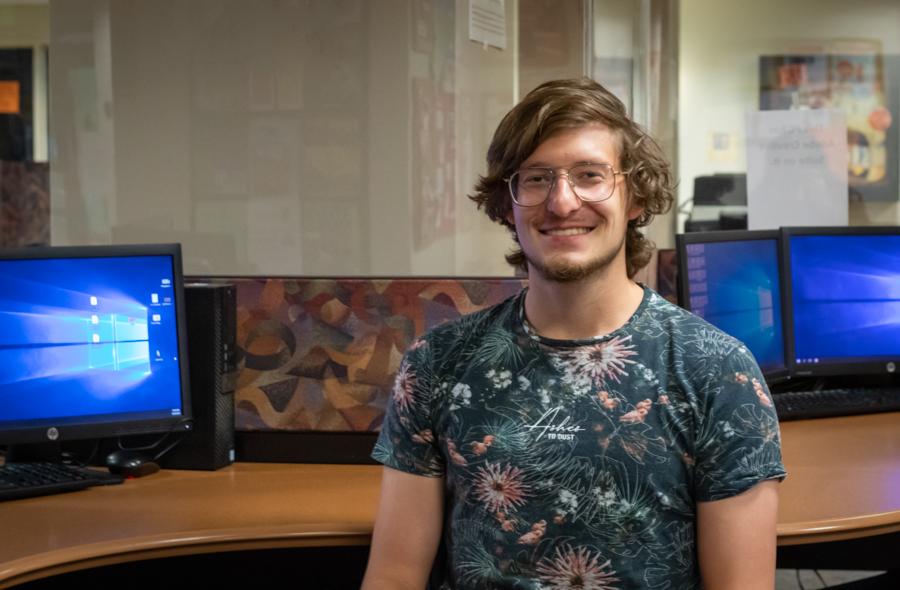 Luke Johnson talks about being an international student during an epidemic