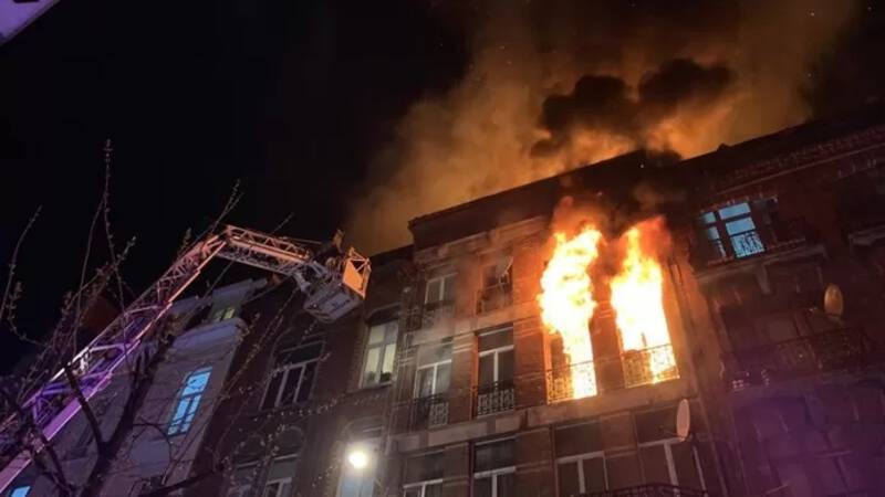 Major domestic fire in Brussels: at least 25 injured