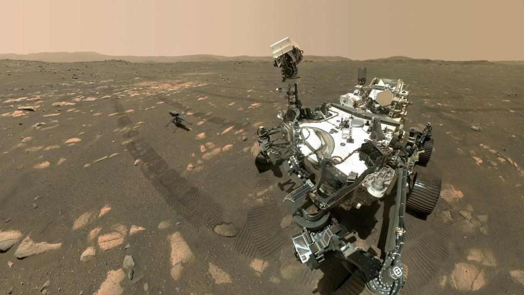 Mars rover produces oxygen for the first time on a planet other than Earth |  NOW