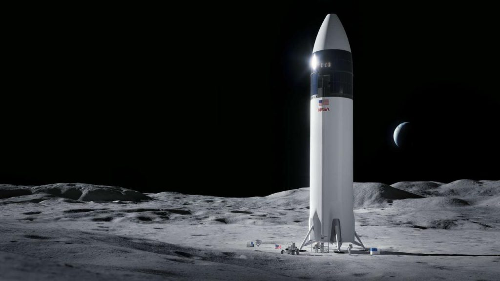 NASA builds SpaceX lander for first lunar mission since 1970s    NOW