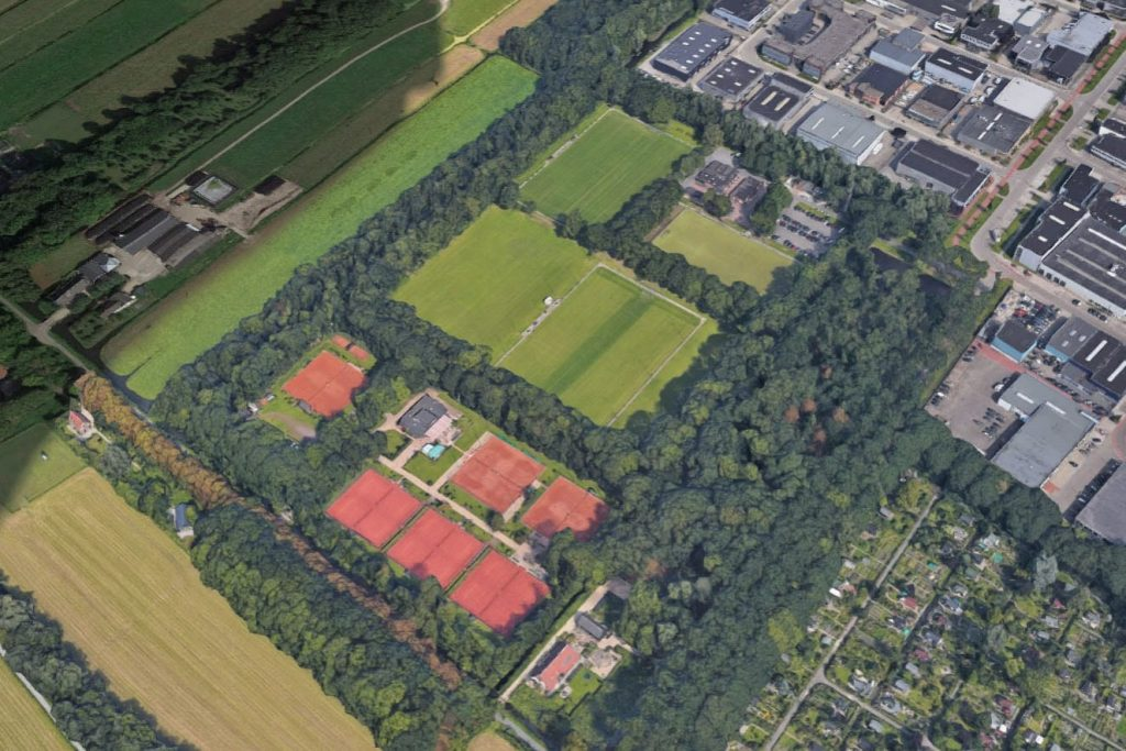 The municipality of Utrecht has drawn up a plan for the sports park of Overvecht-Noord