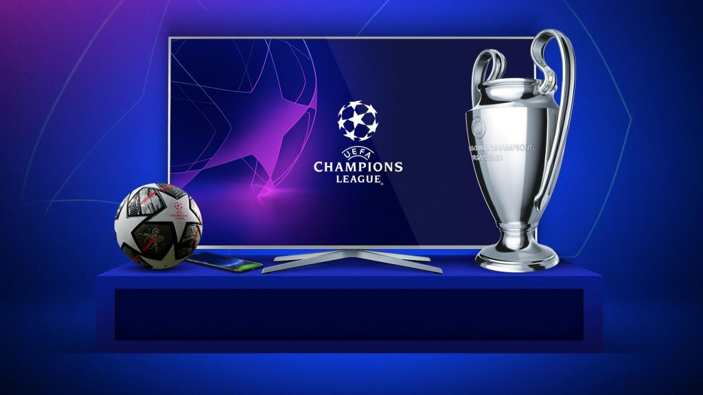 Where can you watch the UEFA Champions League