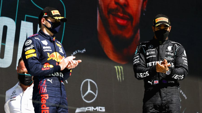 Verstappen over concurrentie met Hamilton: