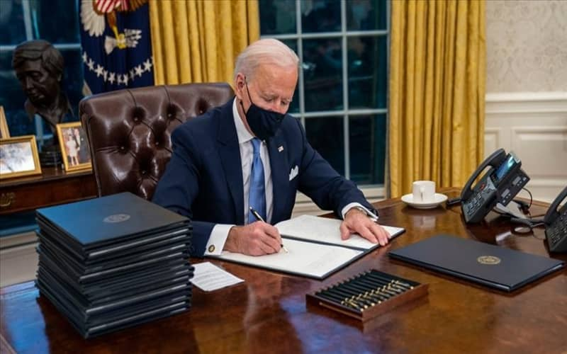Biden's government has not yet made that decision