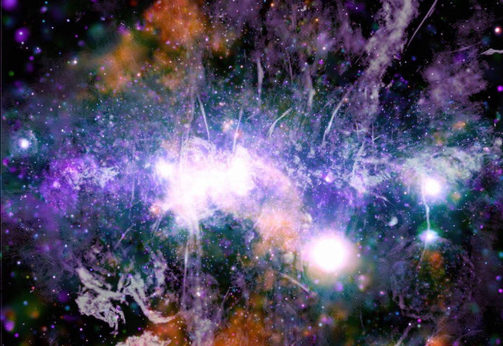 NASA releases spectacular photo of Milky Way center Melk