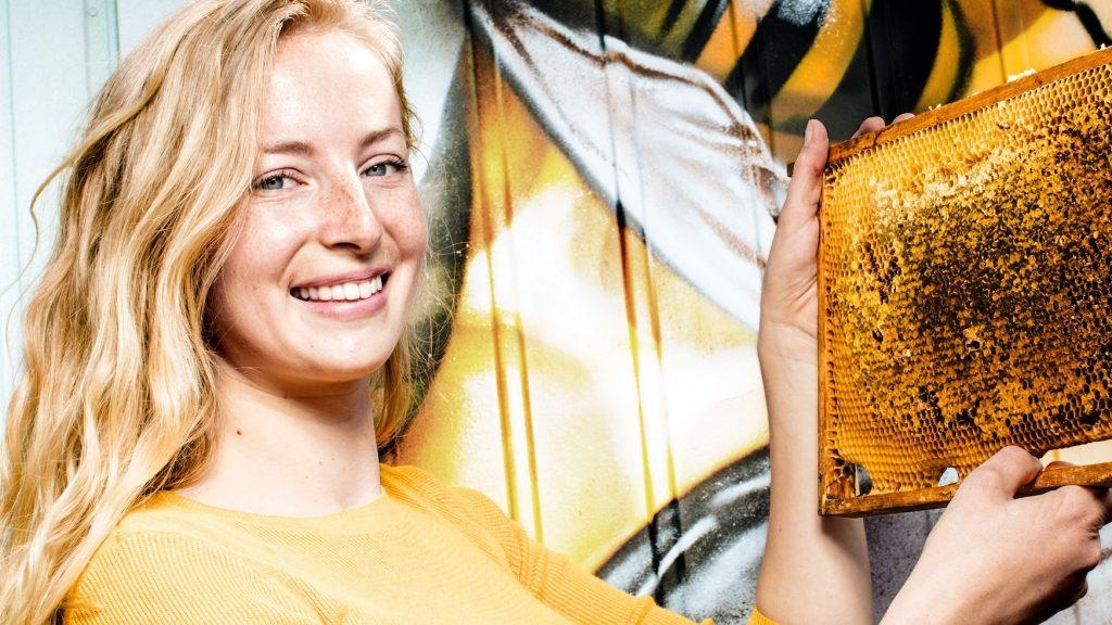 Beekeeper Nienke Boone has been fascinated by bees for years