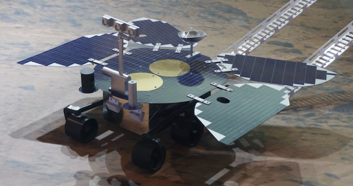 China second country able to use robotic jeep on Mars