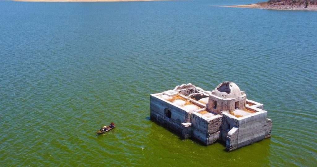 Historic temple rises after 40 years due to extreme drought |  Abroad