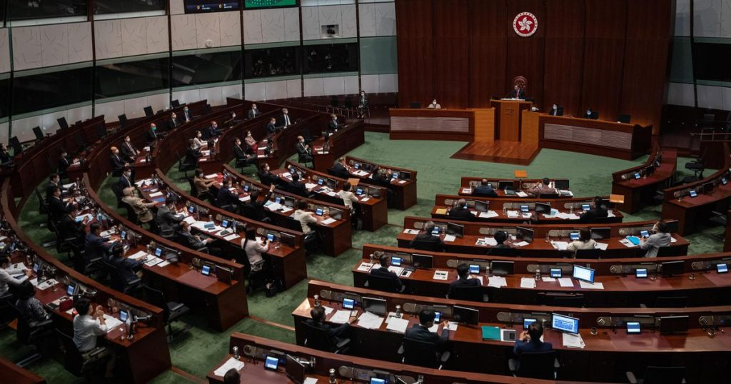 Hong Kong Parliament Approves Radical Electoral System Overhaul    Abroad
