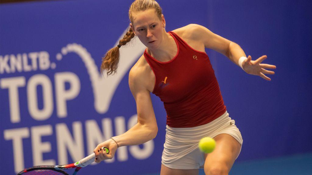 ITF Monastir: Visscher naar dubbelfinale, uitgeschakeld in enkelspel