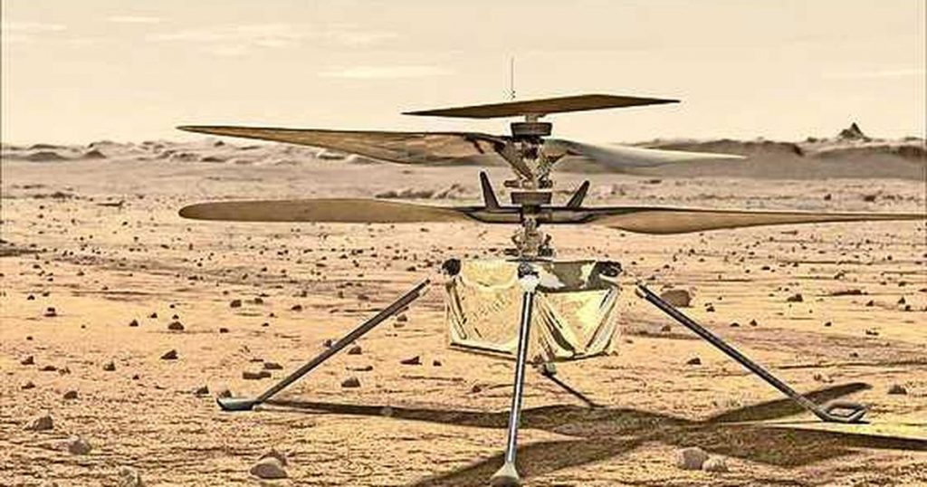 Mini Helicopter Ingenuity completes its fourth flight to Mars |  Abroad