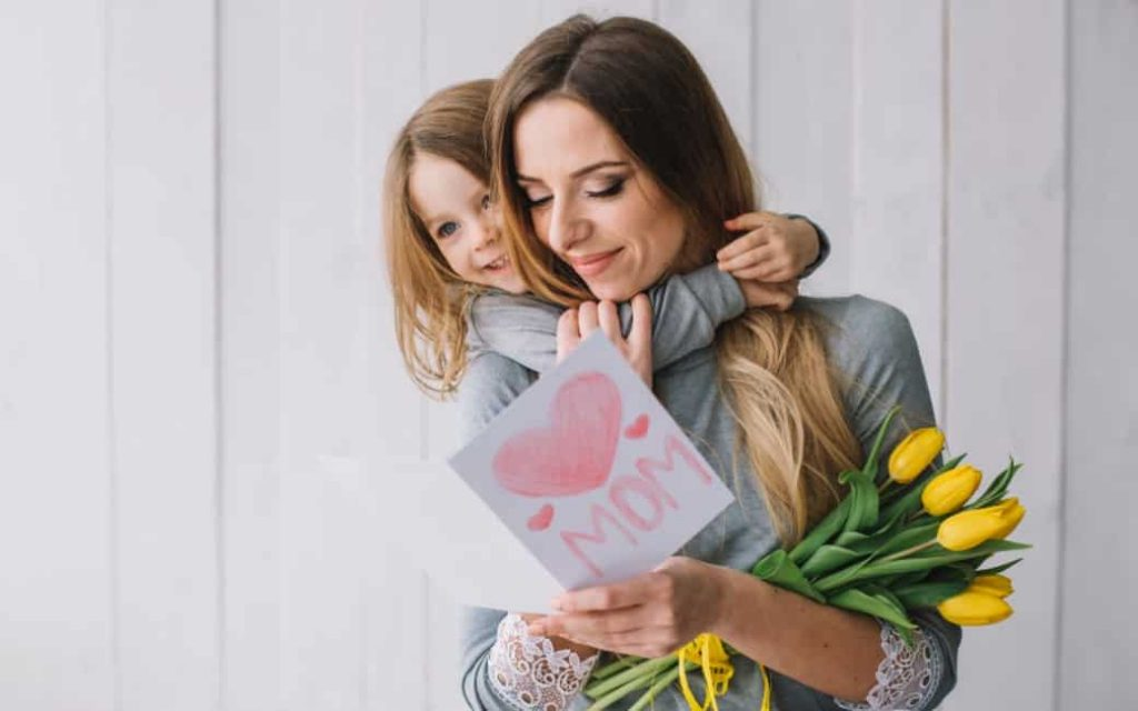 Mother's Day or Día de la Madre on May 2 in Spain