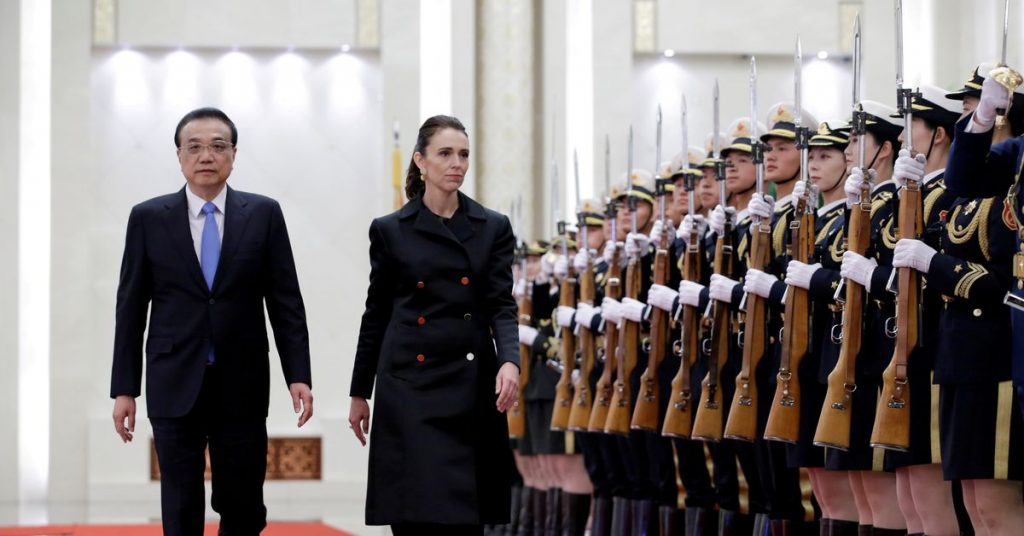 New Zealand's Ardern says it's harder to settle disputes with China