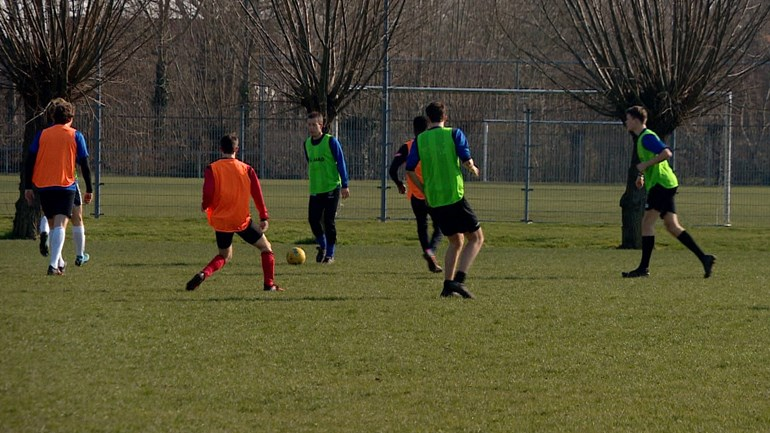 Oostburg football players happy to relax;  train as usual