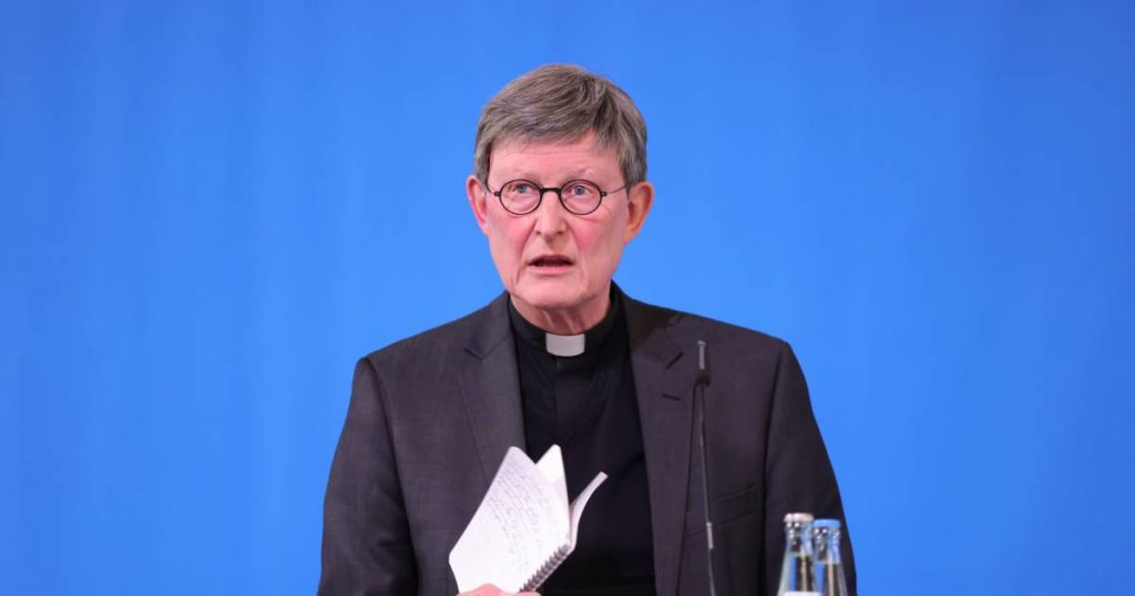 Pope sends Dutch and Swedish researcher to Diocese of Cologne in crisis of abuse |  Abroad