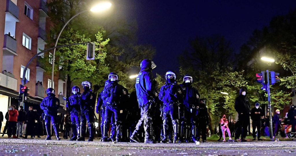 Protesters clash with police in Berlin |  Abroad
