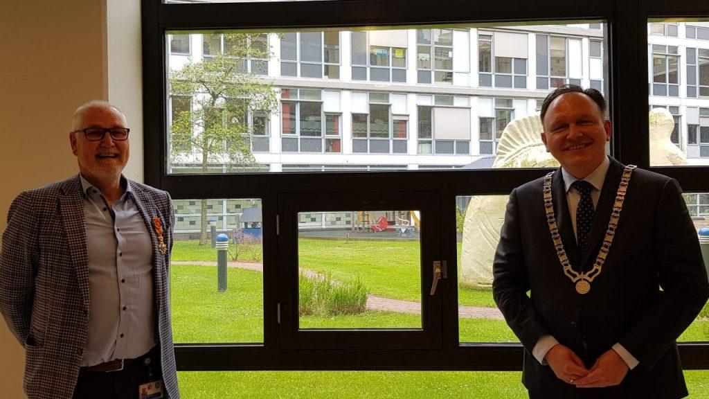 RTV Stichtse Vecht - Royal decoration for Professor Frank Backx de Maarssen