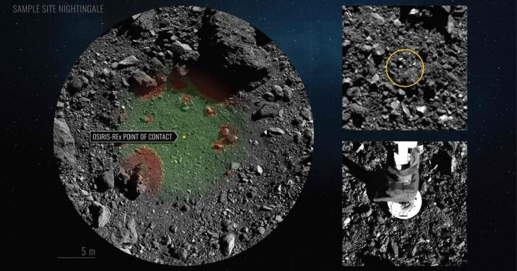 Space Rock Grit Probe Undertakes Long Journey Back to Earth |  Abroad