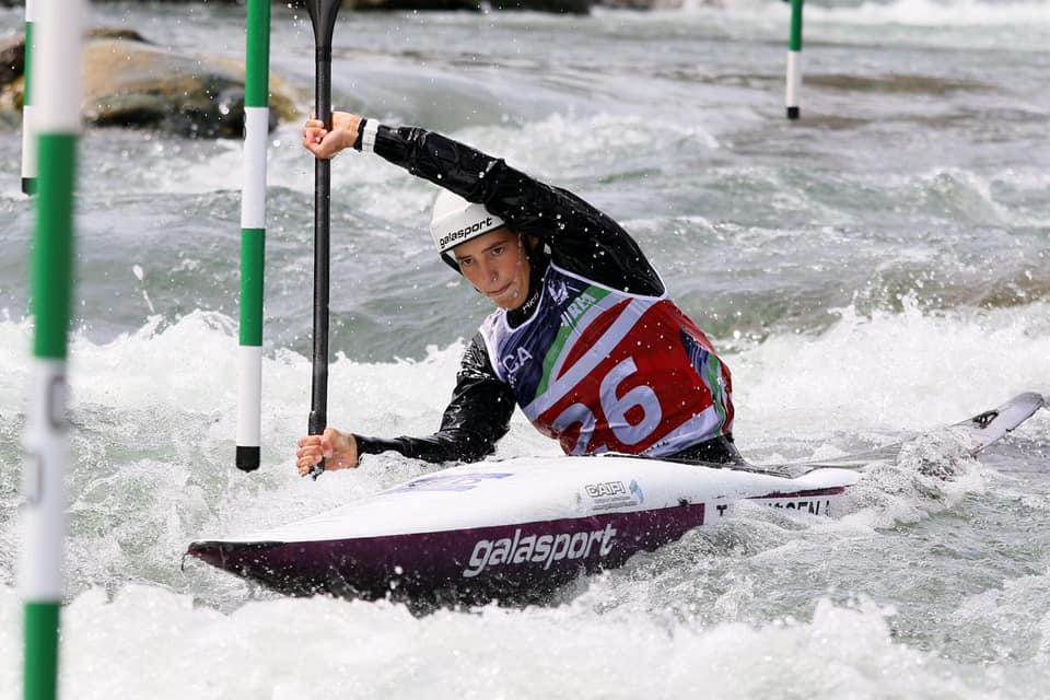 Teunissen cleverly seventh in strong K1 EK Kanoslalom final