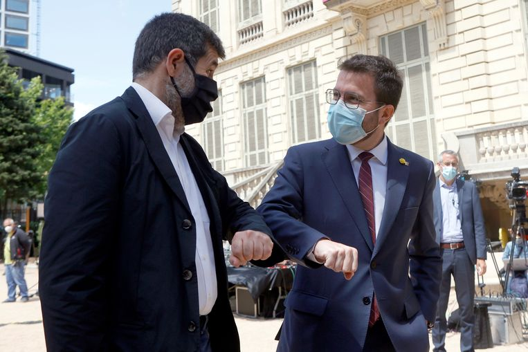The new Catalan government is forged in prison: this does not bode well for Madrid