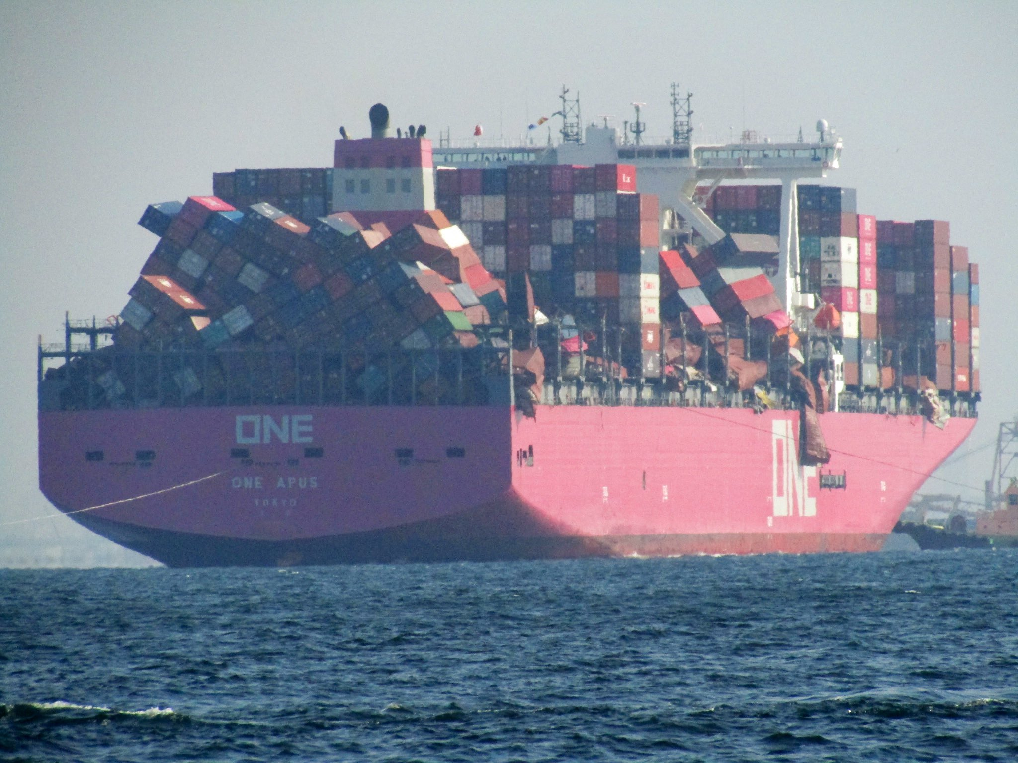 These are the biggest disasters involving container ships in the
