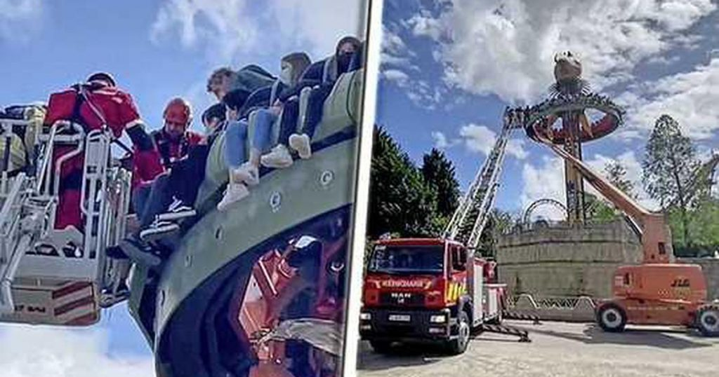 Thirty children stuck in an attraction in an amusement park in Belgium |  Abroad