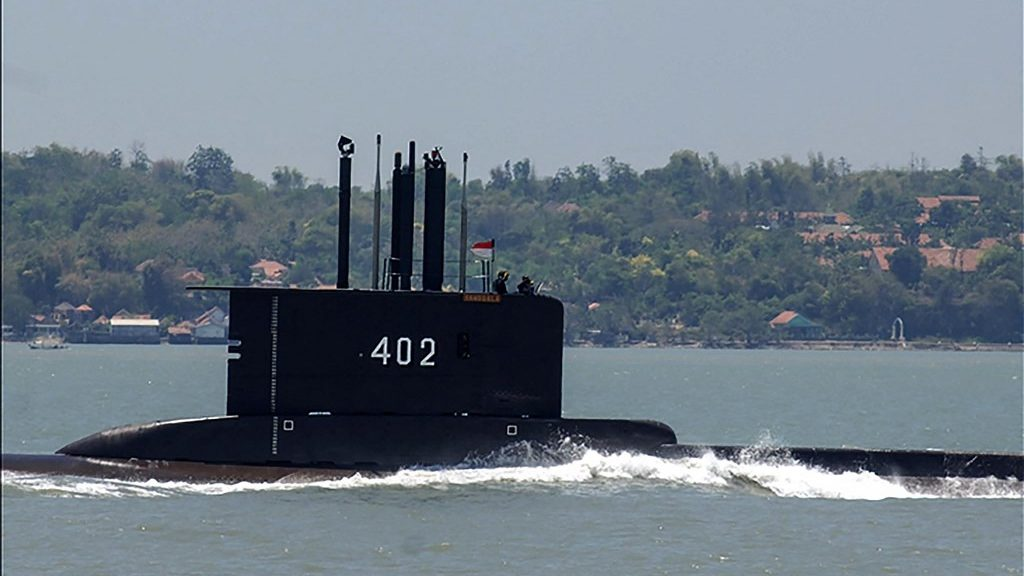 US Air Force help finding Indonesian submarine