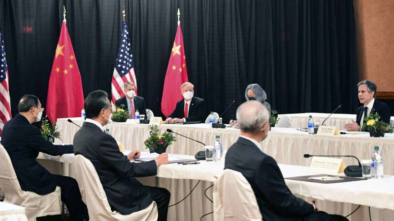 US, China clash in front of the world in first meeting under Biden