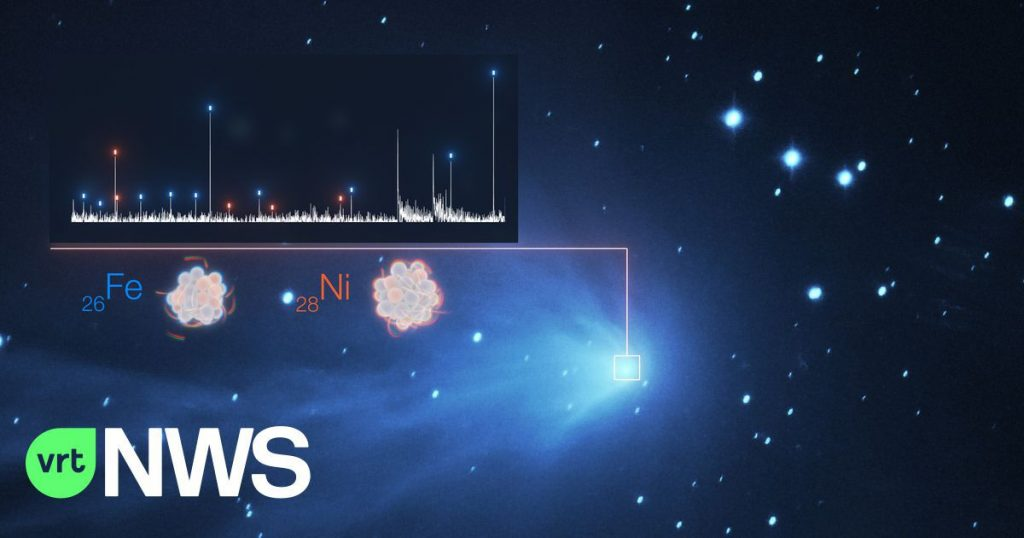 Unexpected heavy metal vapors found in the atmosphere of comets in our solar system - and beyond