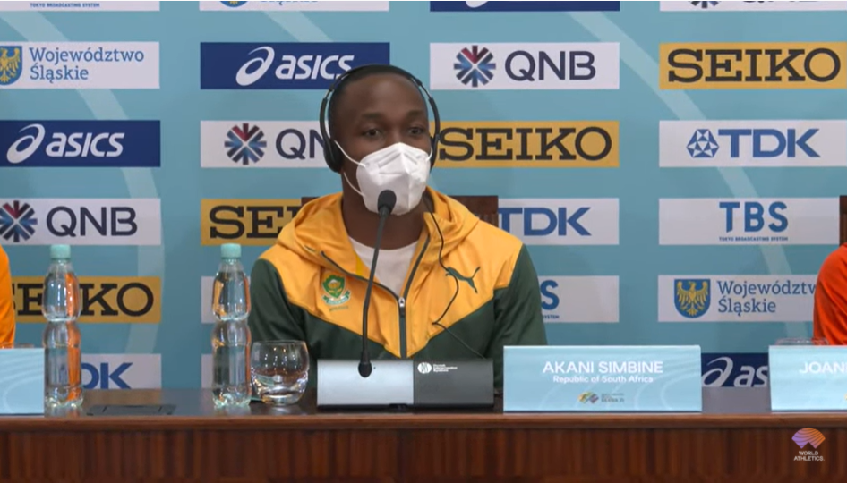 It took over 30 hours for the South African team, including 100m Commonwealth champion Akane Sembene, to get to the event in Poland © World Athletics