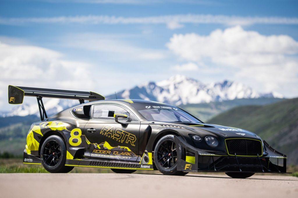 Bentley Continental GT als Pikes Peak-racer