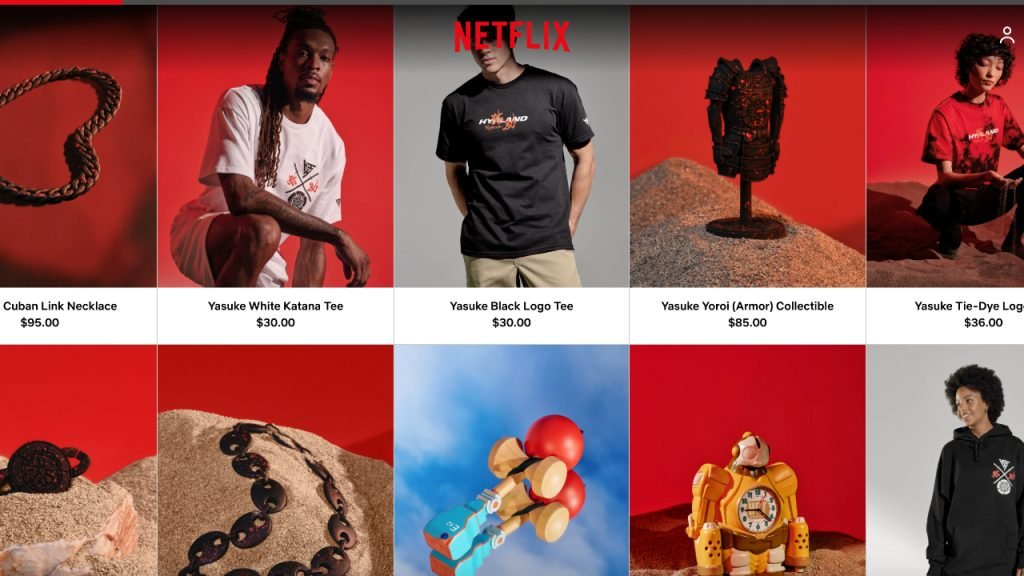 Netflix online store