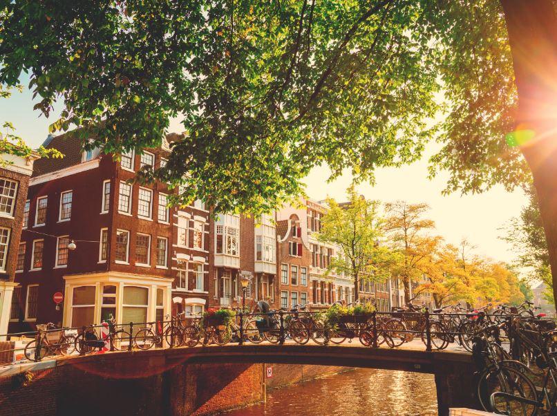 Amsterdam Fietskanaalbrug