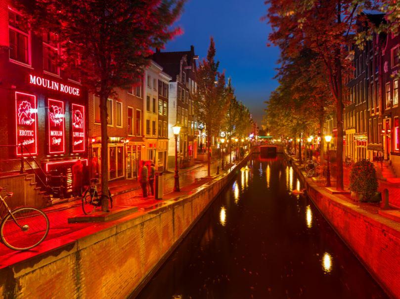 De rosse buurt van Amsterdam