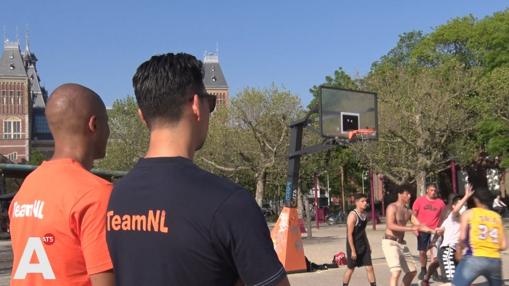 Amsterdam basketball players eagerly await Games debut: '100% achievable gold slice'