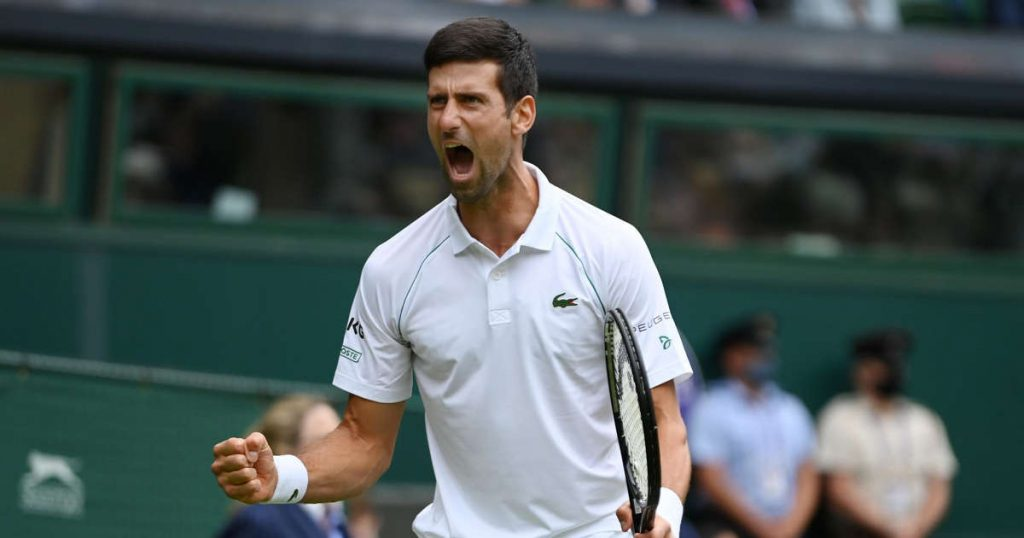 Djokovic beats Anderson at Wimbledon in 2018 final rehearsal