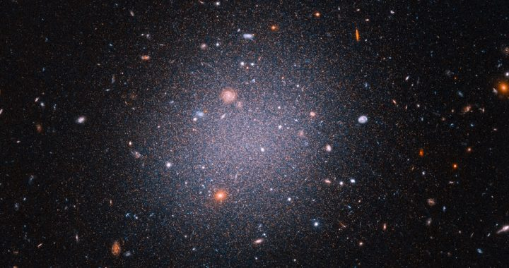 Hubble confirms the existence of galaxies that barely harbor dark matter
