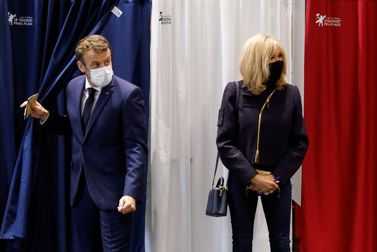 In France, Le Pen and Macron are not winning anywhere, and the old parties everywhere