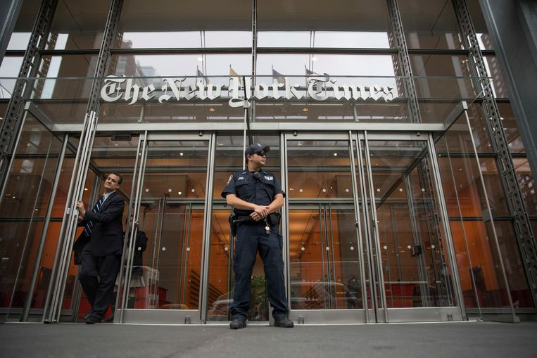 Justice under Trump collected call data from New York Times journalists